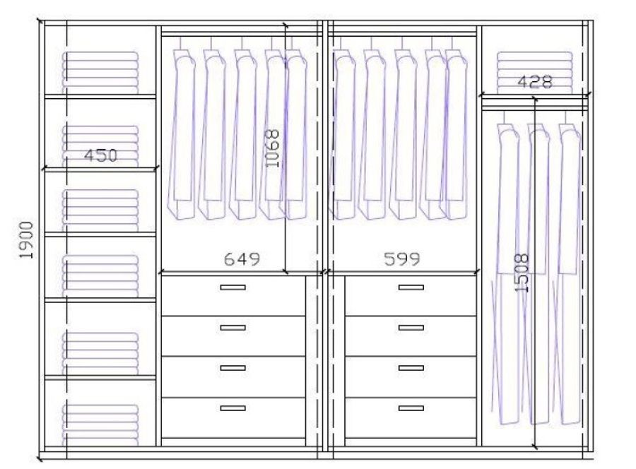 Forrar armario 2 armarios grandes y 1 peque o mijas costa closet pinterest forrar - Como forrar un armario por dentro ...
