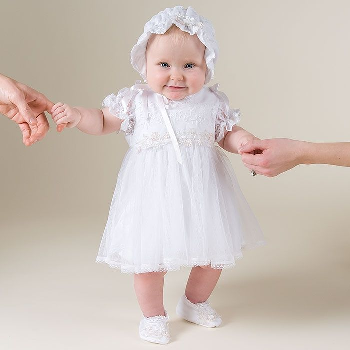 Designer Baby Girl Baptism Dress – Design &amp art