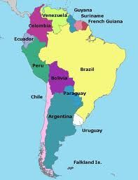 MAP OFSOUTH AMERICA | Maps, Cartography, Globes | Pinterest | South ...