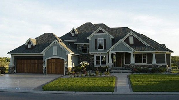 Make The Wood On The Exterior Similar To The Garage Doors