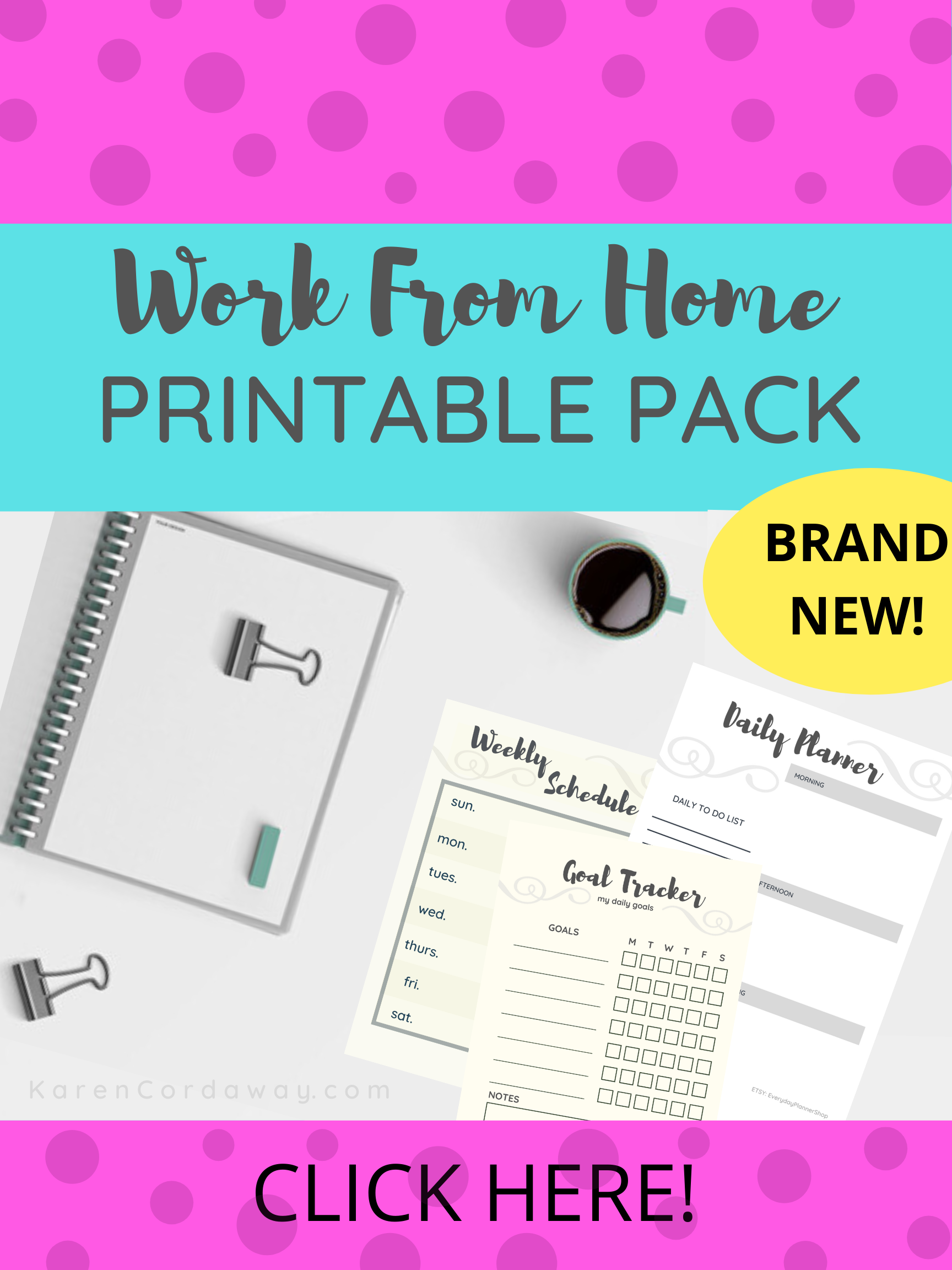 25 Work Life Printables Morning Routine Daily Planners