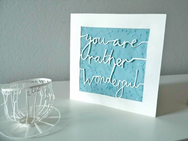 Paper Cutting Fundamentals: How to Cut Tricky Letters - Tuts+ Crafts & DIY Tutorial