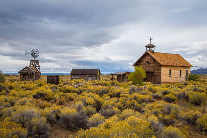 Visit the Fort Rock Homestead Village Museum - ShareOregon