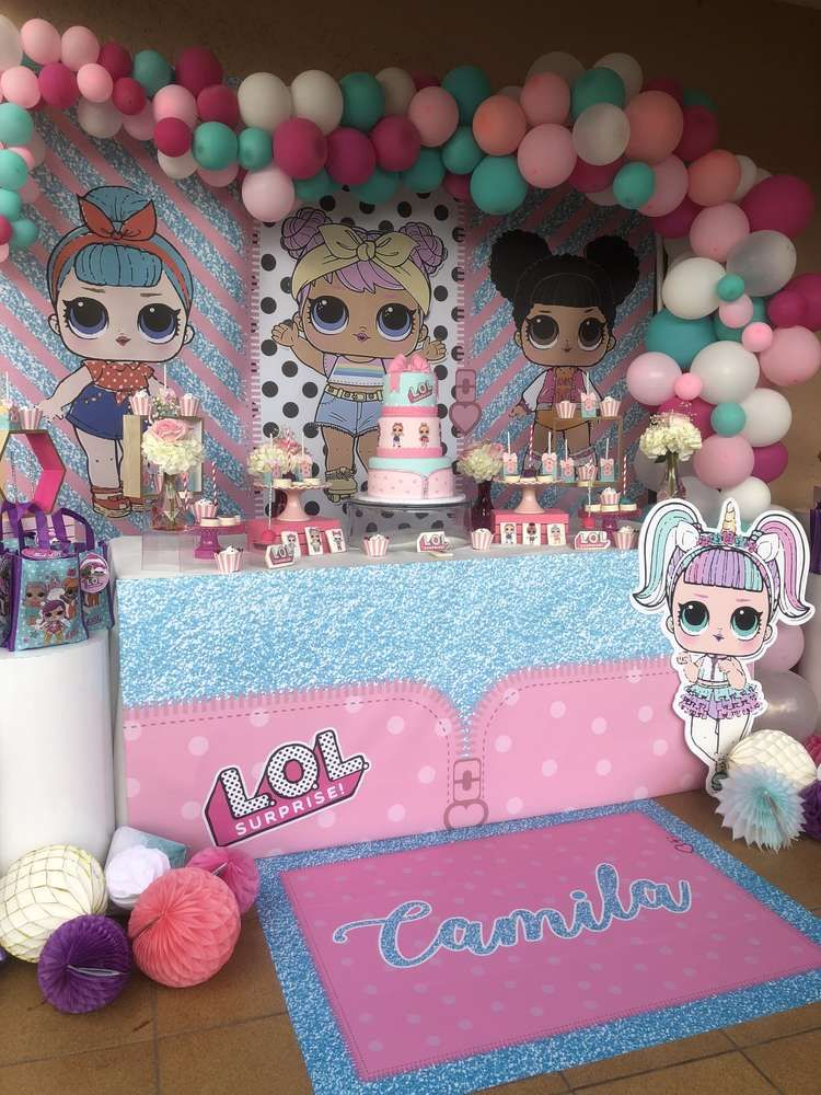 Swoon over this LOL Surprise Dolls Birthday Party