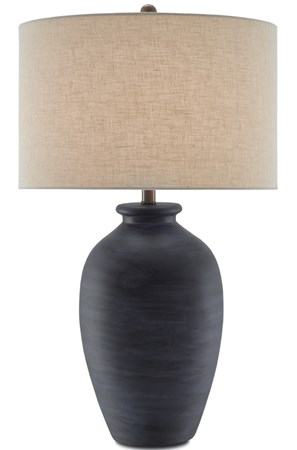 Cyanic Table Lamp Currey And Company In 2020 Vase Table Lamp Lamp Table Lamp