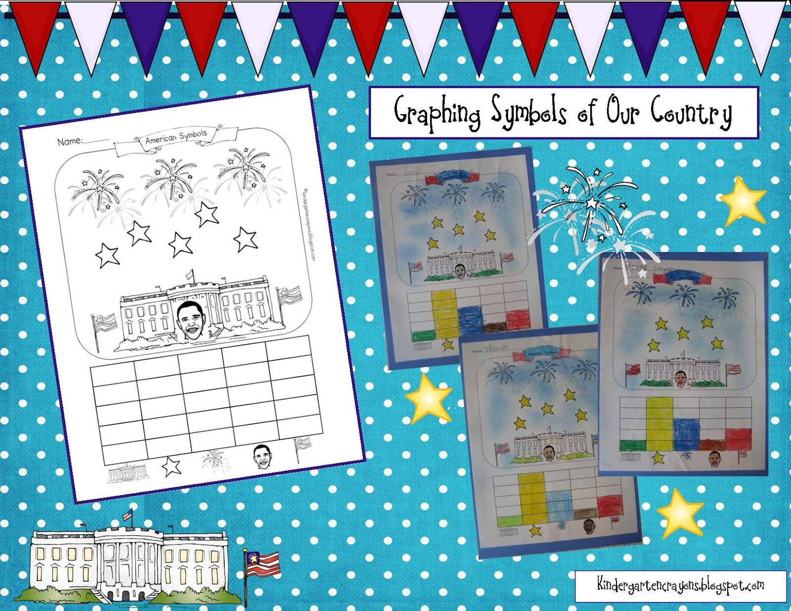 Graphing Symbols Of Our Country
