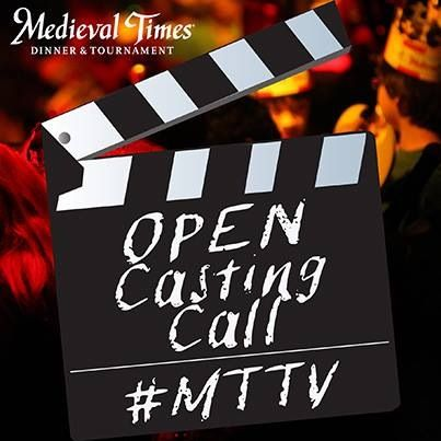 Open Casting Call at Medieval Times Dallas