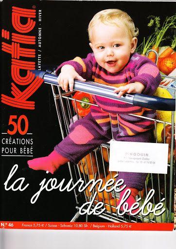 katia num 46 layette-la journee de bebe- automne hiver - paty net ... 2ec9e0525bf