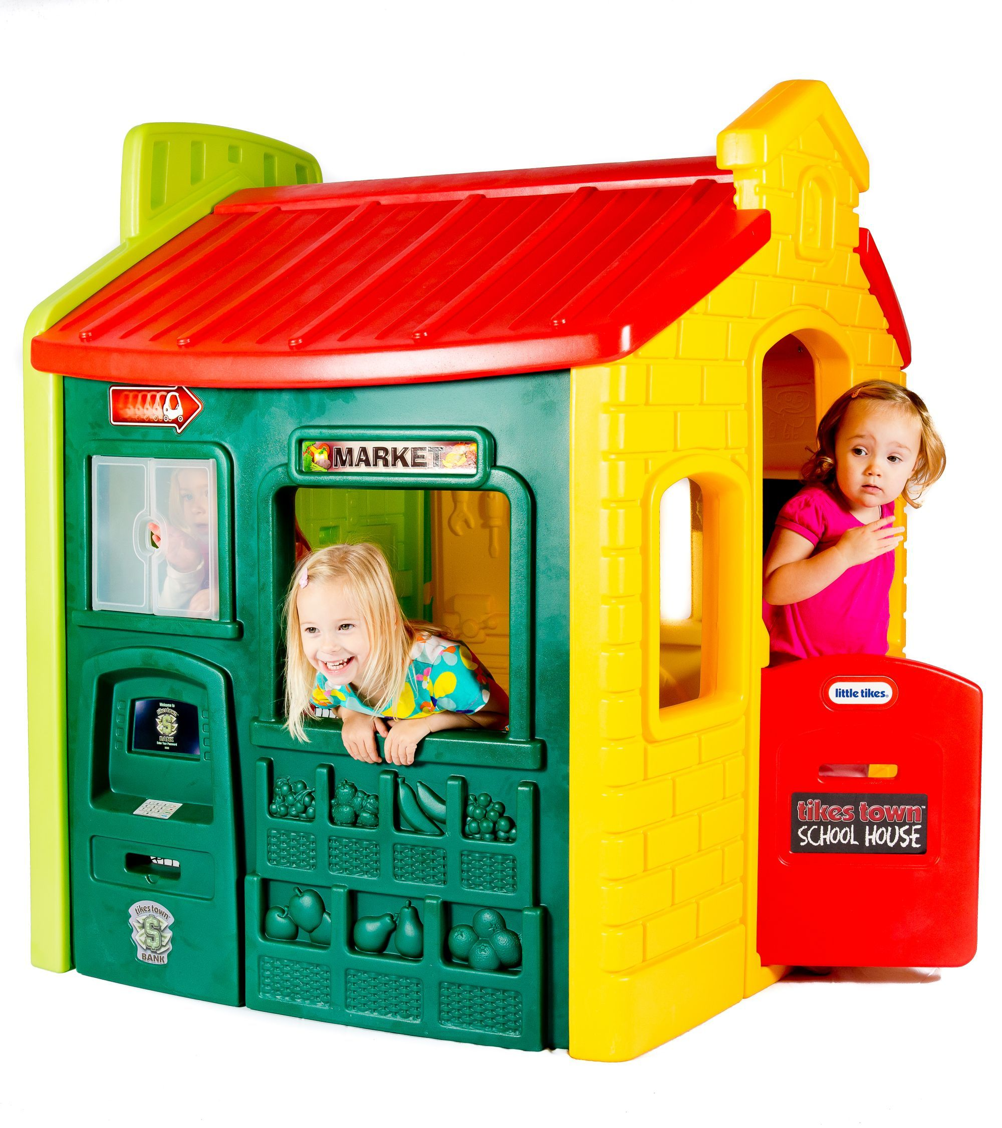 Little Tikes Town Playhouse Evergreen
