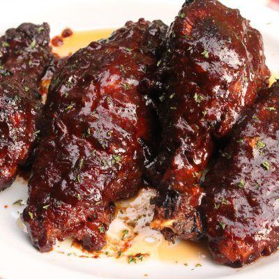 Baked Barbecue Turkey Wings I Heart Recipes Recipe Turkey Leg Recipes Baked Turkey Wings Fried Turkey