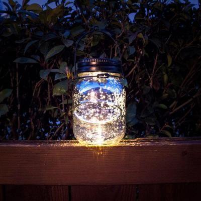 Solar Light Mason Jar Lovely! Malibu Outdoor Bronze Solar ...