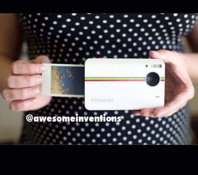Digital instant print camera