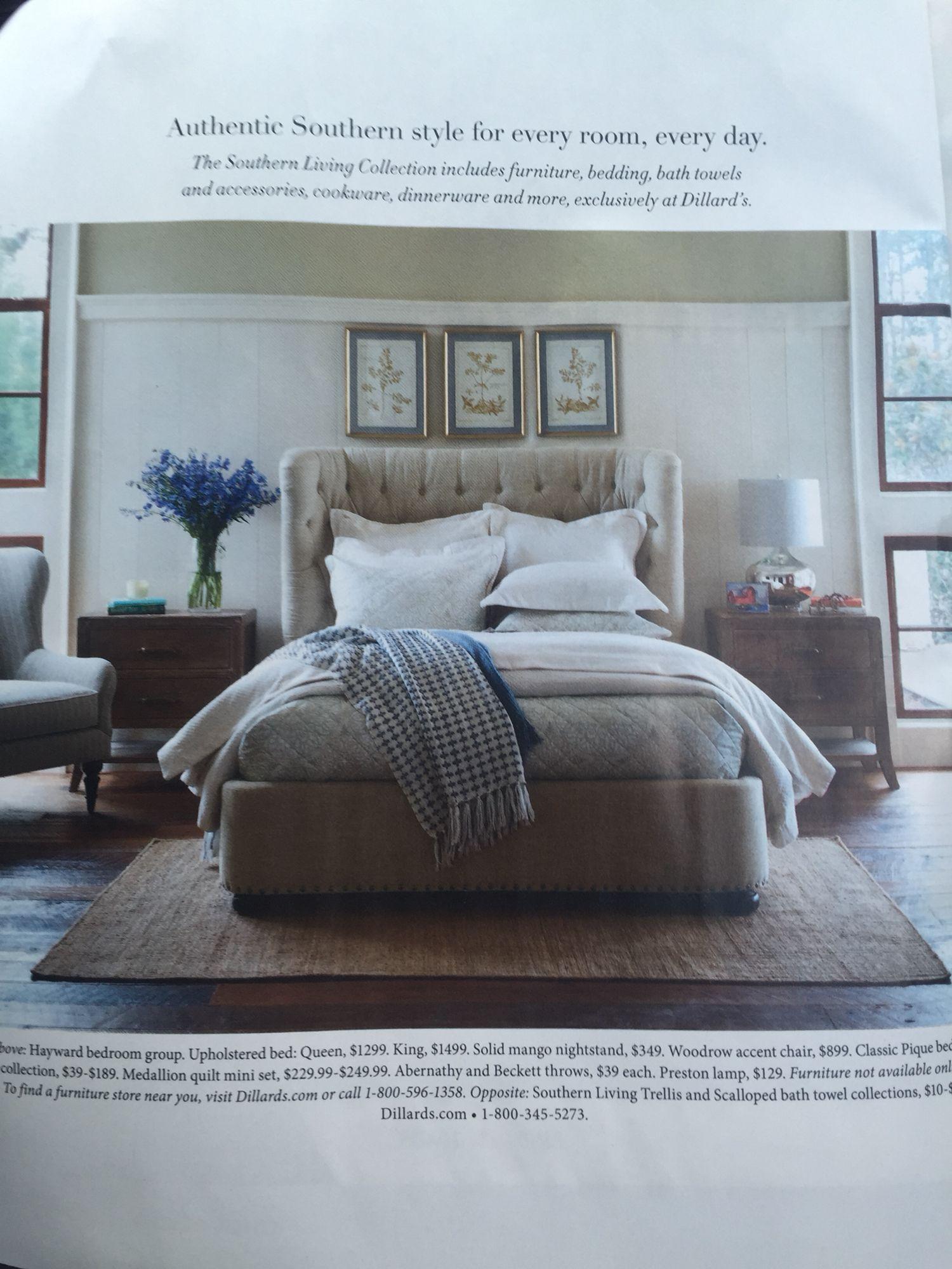 Southern Living Furniture Dillard S In 2019 Bedroom