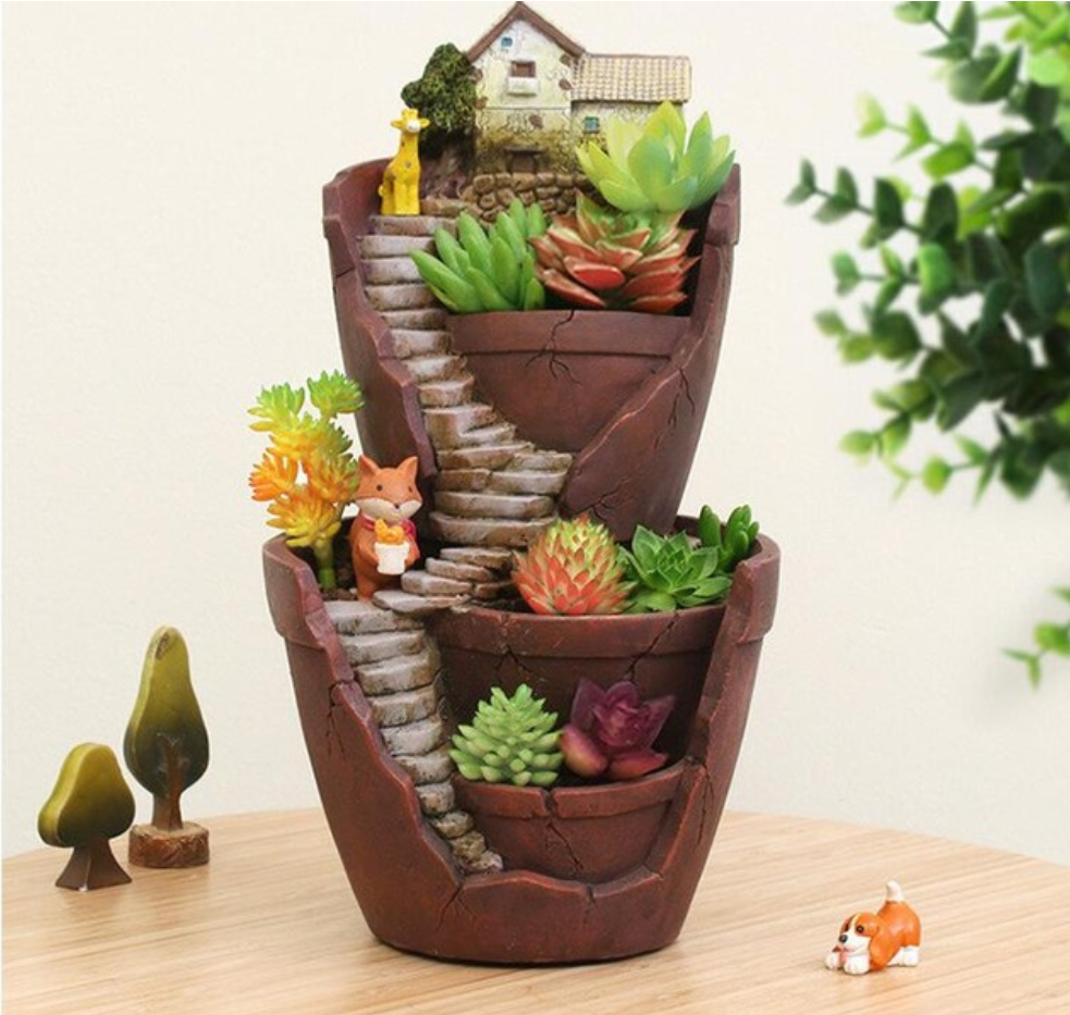 terracotta outdoor pots decorative inch of indoor painted pin decor love tree pot hand