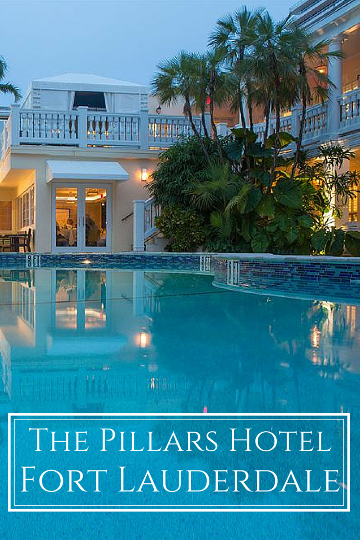 The Pillars Hotel Is A Boutique Luxury In Fort Lauderdale On Intracoastal Waterway And Private Dining Club Secret Garden Restaurant