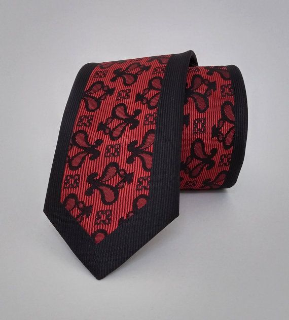 Black Necktie, Black Men's Tie, Black Cravat, Black Tie - SL538 #handmadeatamazon #nazodesign