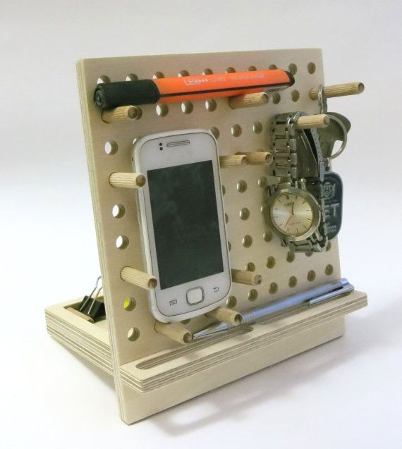 iphone dock stationTablet stand  phone holder phone by OlaDiClock