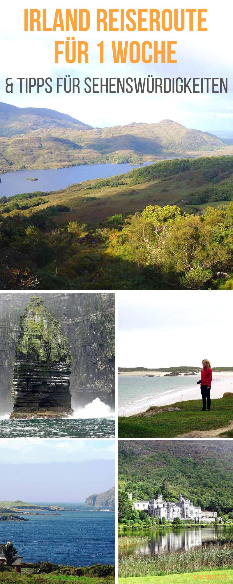 Atracciones de la costa oeste de Irlanda + Itinerario
