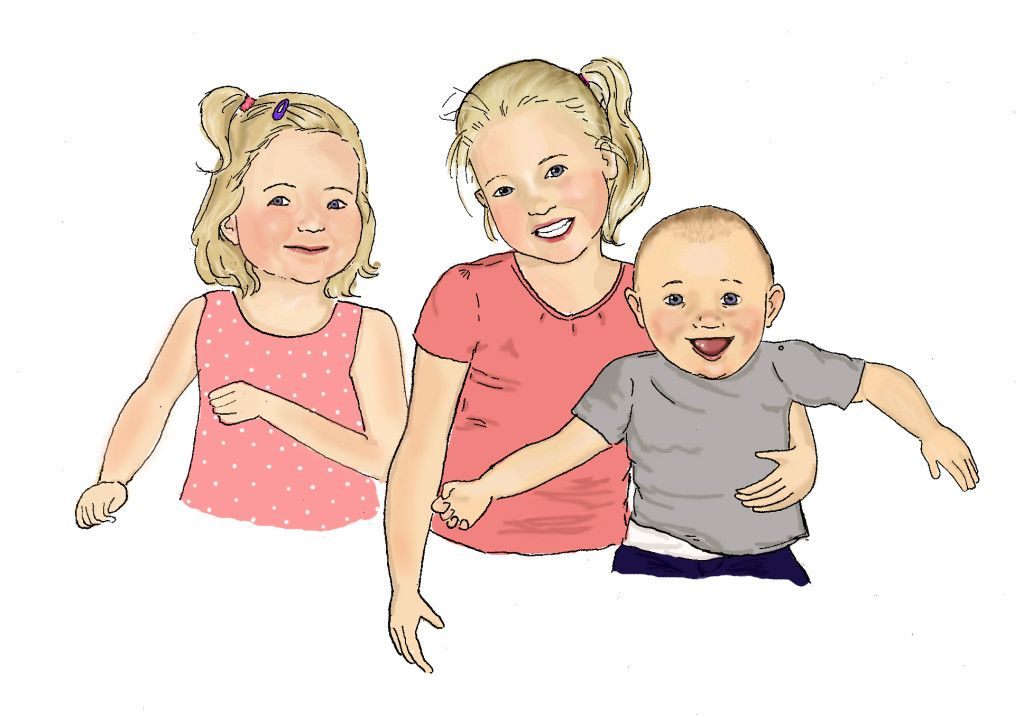 #portrait #illustration #children