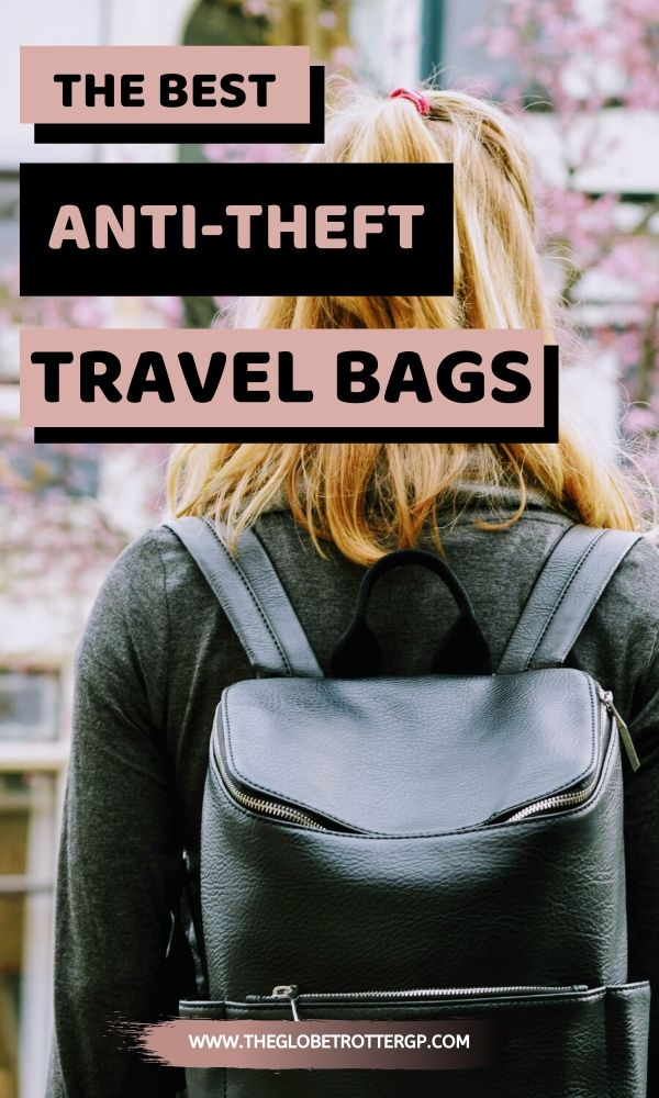 If you're looking for the best travel bags which will also help with safety travelling abroad, then you need to read this list of the best anti theft bags for travel for both women and men. From anti theft travel purses to theft proofbackpacks and theft proof camera bags, this list has every type of theft proof bags for travel for your backpacking packing list! Perfect for solo travel #travelsafety #bags #travelbags #travelpacking list #packinglist #camerabag #solofemaletravel #bag
