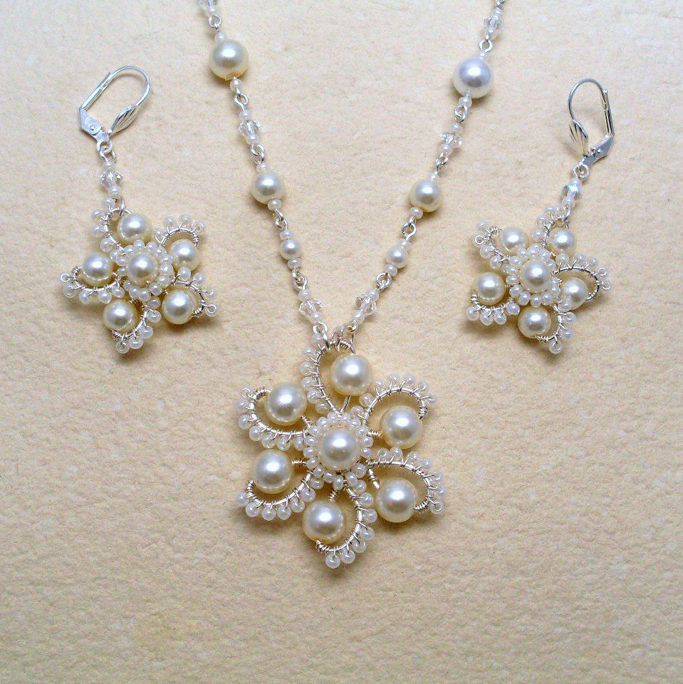 Can this wire and bead necklace and earring set be converted into a ...