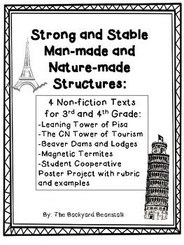 Strong and Stable Man-made and Nature-made Structures Non