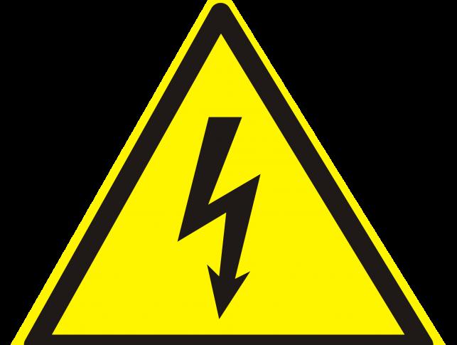 Hazard Sign High Warning Safety Voltage Hazard Sign Yellow Sign Clip Art