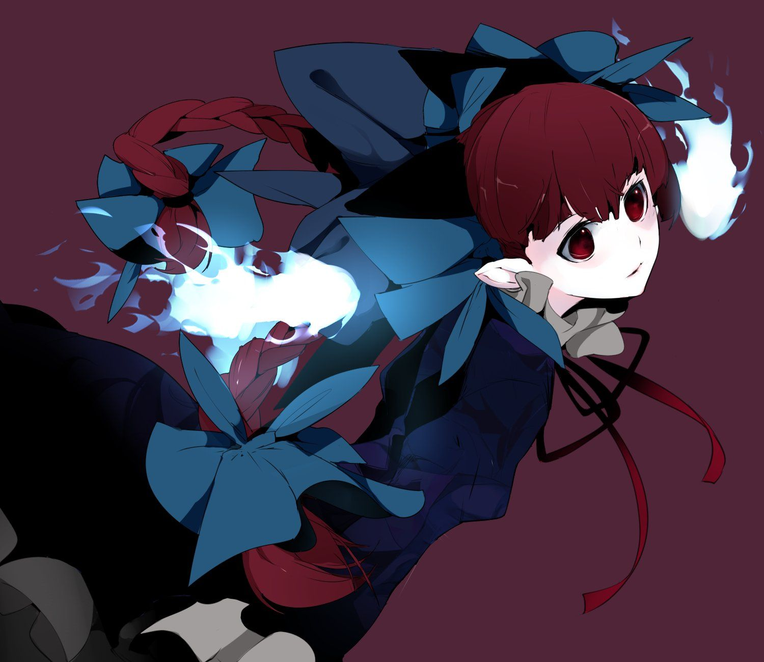 Pin by Phoenixwing on Rin Kaenbyou Touhou Project (東方