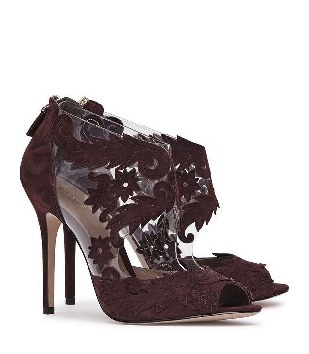 51013dd857845 Beardsley Berry Laser-Cut Suede Shoes - REISS   REISS   Shoes, Suede ...