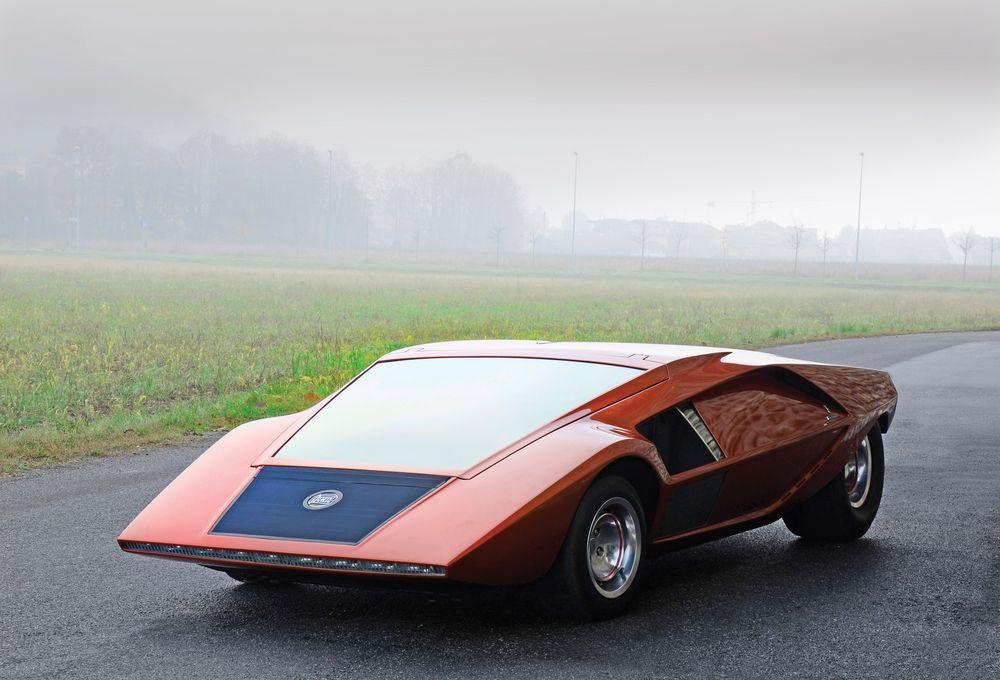 Italian Style. Stratos HF Zero concept.