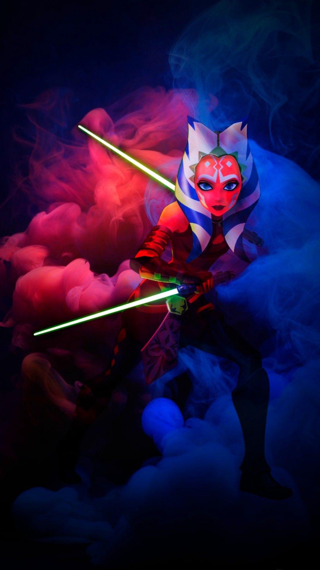 Ahsoka Tano   Star wars drawings, Star wars artwork, Star ...