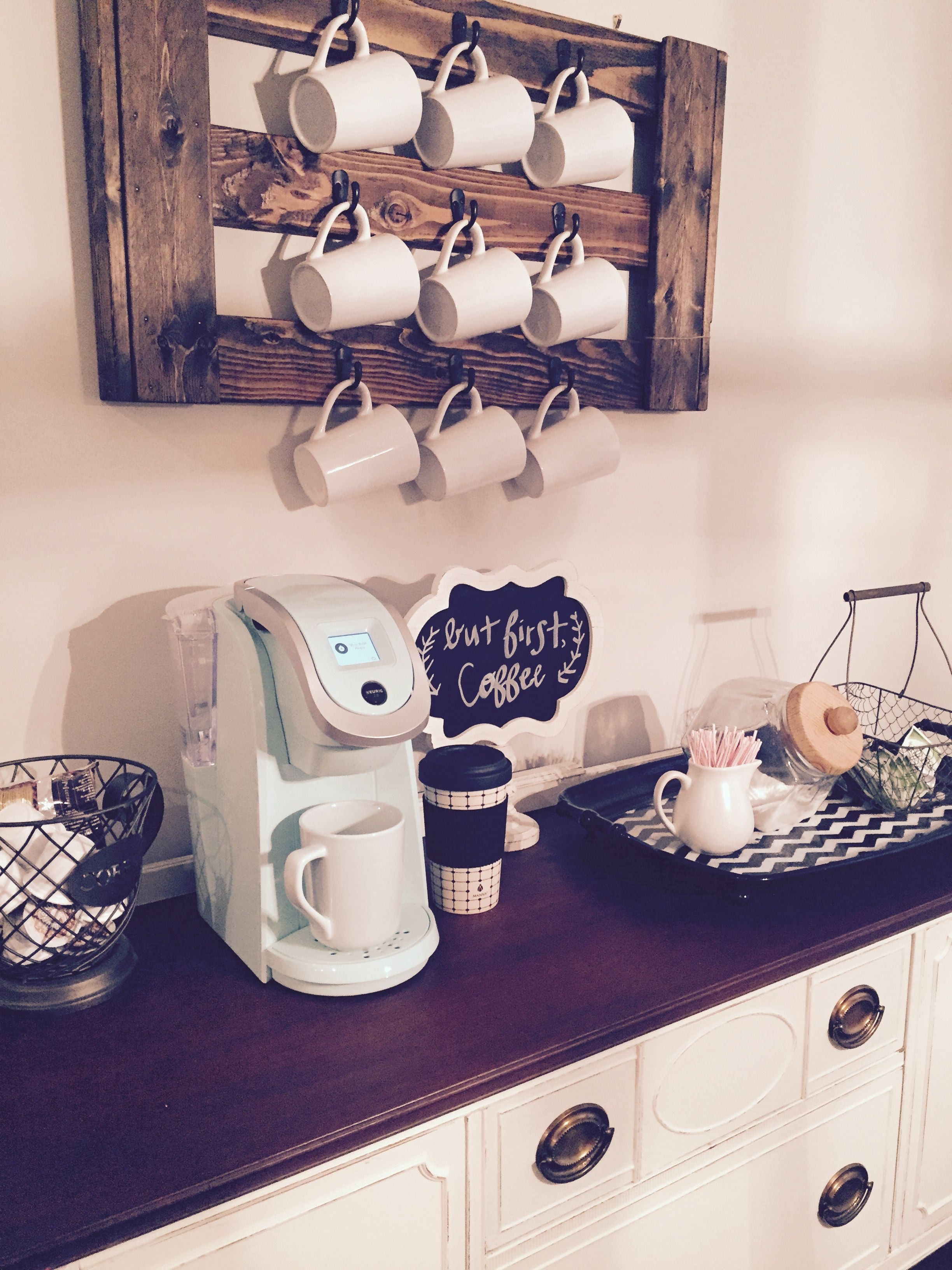 35 Best Diy Coffee Bar Ideas For Your Dream House Homeflish In 2020 Coffee Bar Home Coffee Bar Design Coffee Bars In Kitchen