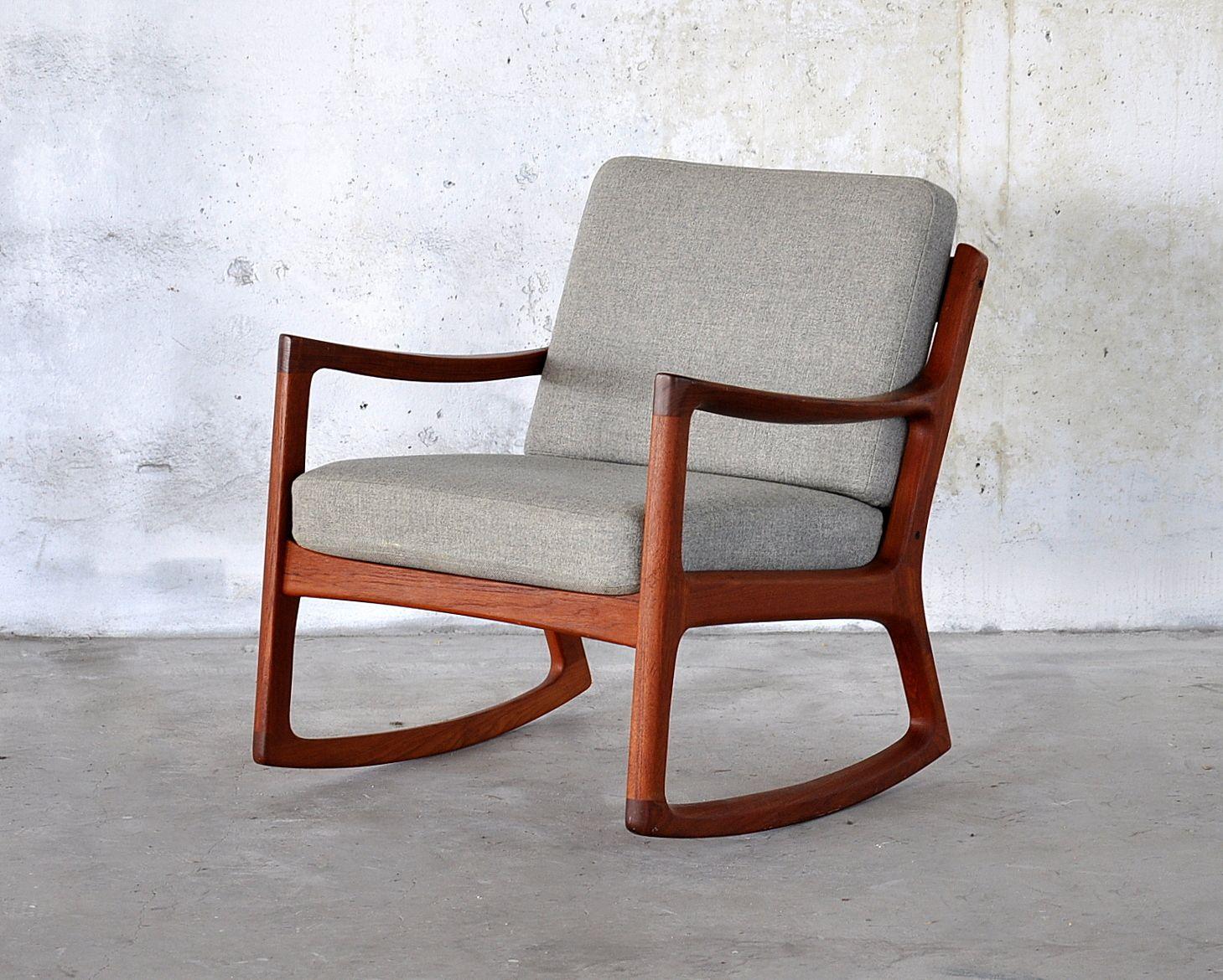 Pin by Ranja Sem on Bloomington condo Teak rocking chair