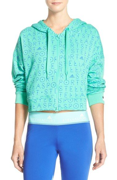 e58d2644 adidas by Stella McCartney 'Stellasport' Hoodie available at #Nordstrom