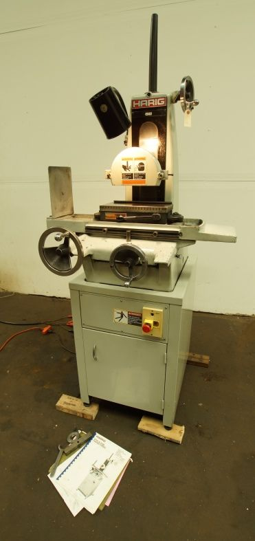 Harig Super 612 Hand Feed Surface Grinder Machinery For Sale Machine Shop Machine Tools