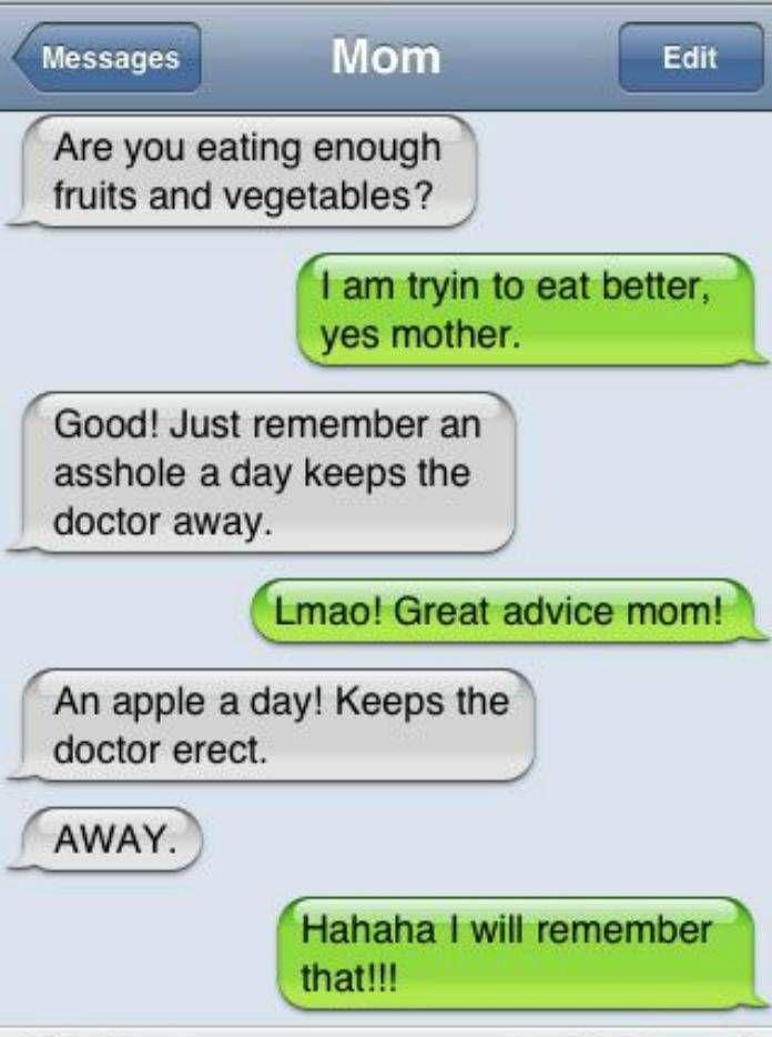Image result for funny parent texts by mistake