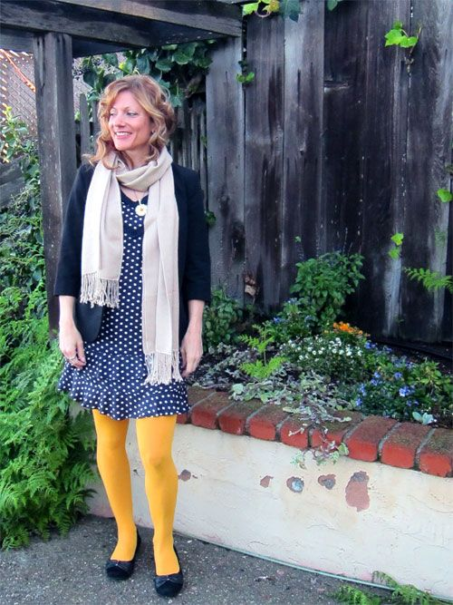 polka dot tights | MooseInChartreuse