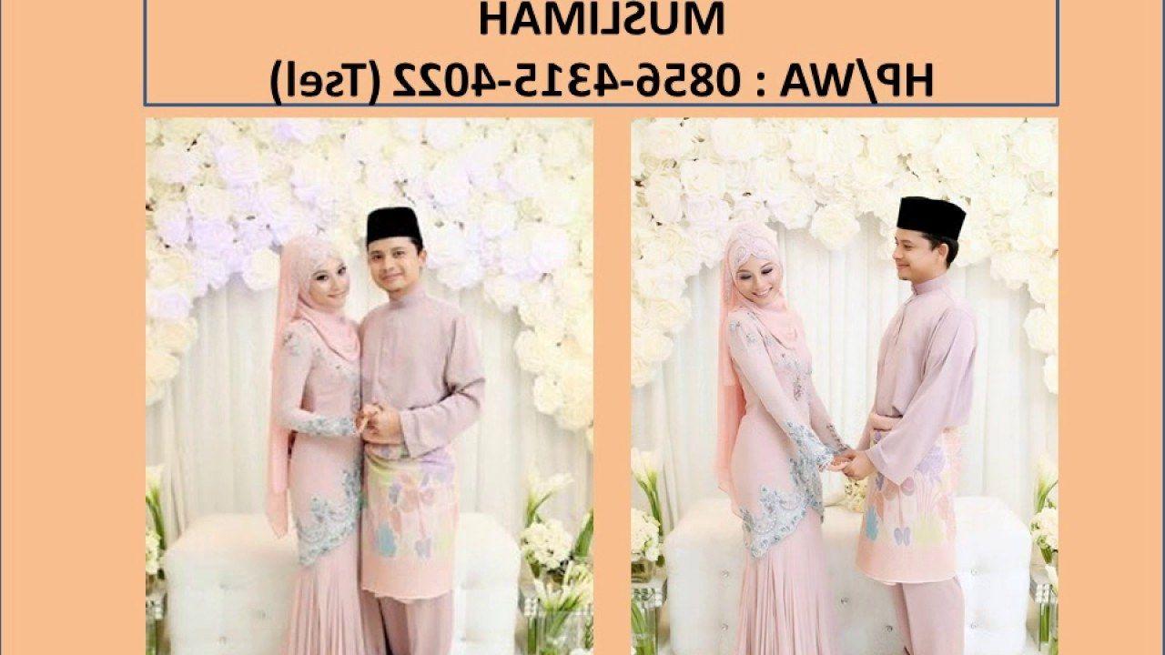 12 Model Sewa Baju Pengantin Muslimah di 12  Baju pengantin