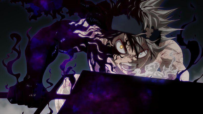 Asta Sword Demon Transformation Black Clover Anime 3840x2160 4k Wallpaper Black Clover Anime Black Clover Manga Anime