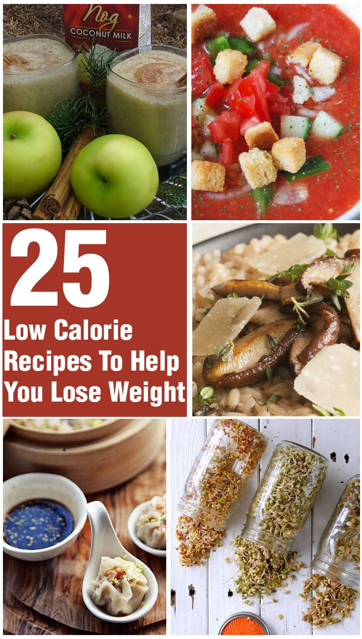 Top 25 Low Calorie Recipes To Help You Lose Weight ...