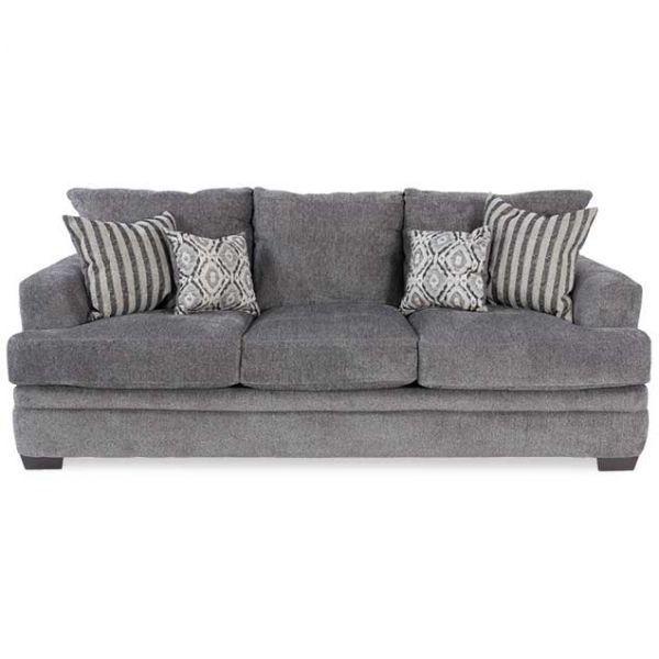 Cornell Pewter Sofa American Home Furniture Sofa American