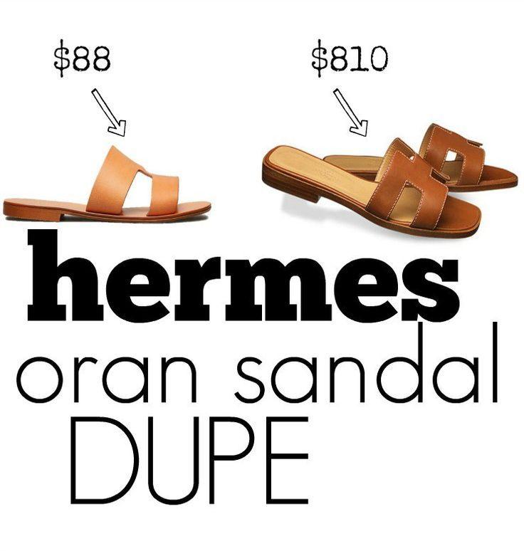30dd6dcc501e Hermes Oran Sandal Dupe