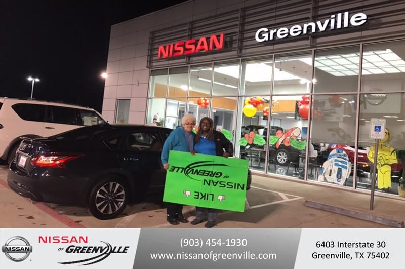 Congratulations Patsy On Your #Nissan #Altima From Queenie Sibley At Nissan  Of Greenville!