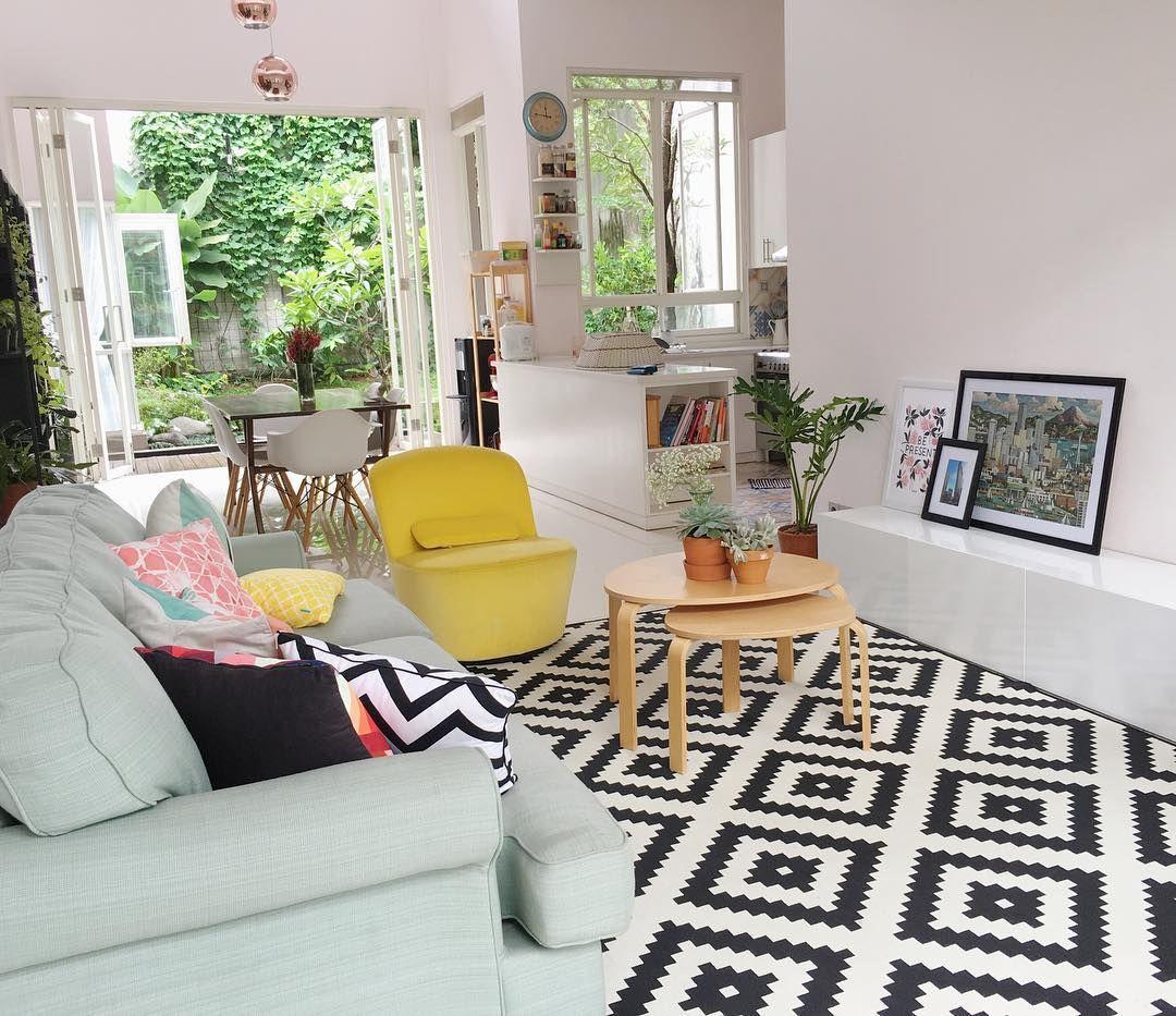 warna cat ruang tamu minimalis putih ruang tamu
