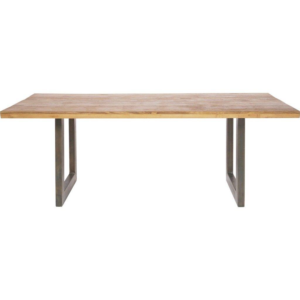 Teakholzmöbel küche  KARE-Design ESSTISCH Teakholz Eisen massiv rechteckig Jetzt ...