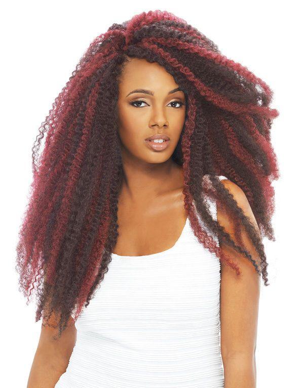4 Packs Janet Collection Noir Afro Twist Braid Hair Marley Havana Cuba 1b