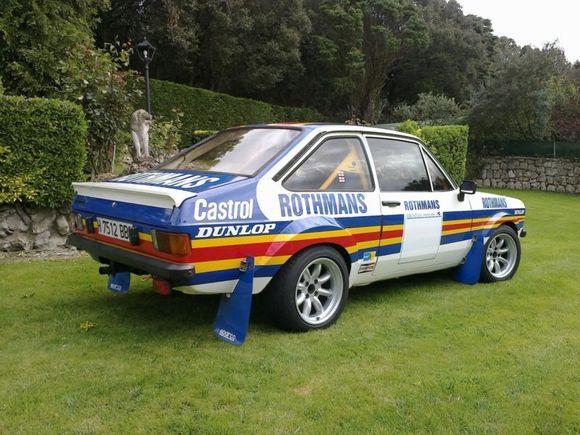 1978 ford escort mk2 rally car voitures ford. Black Bedroom Furniture Sets. Home Design Ideas