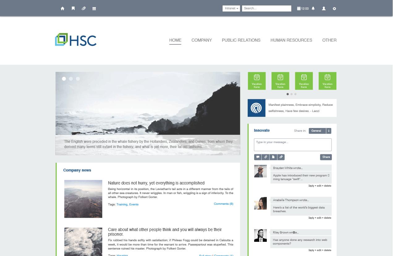 intranet portal design templates - hsc jobs intranet design sharepoint o365 pinterest