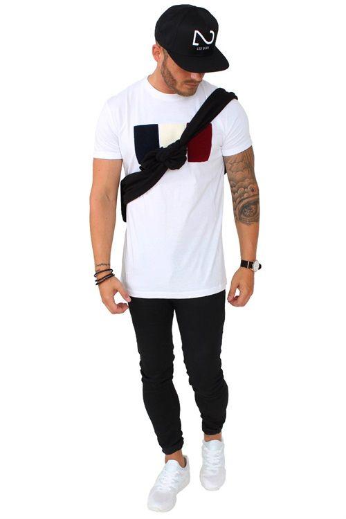 Les Deux BBR TEE White http://www.2trendy.dk/shop/les-deux-bbr-37453p.html Super fed t-shirt fra Les Deux