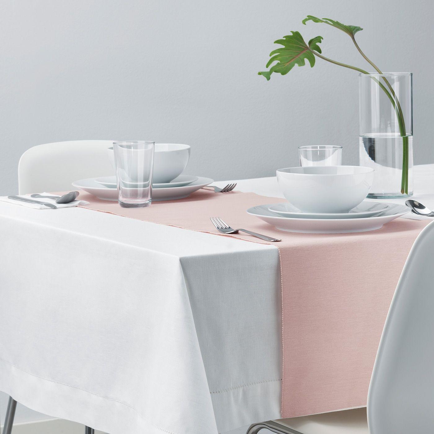 Marit Tischlaufer Rosa Ikea Osterreich In 2020 Ikea Tischdekoration Und Ikea Produkte